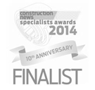 Construction news specialists award 2014