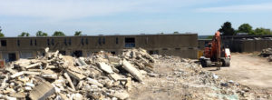 Thumbnail of demolition project