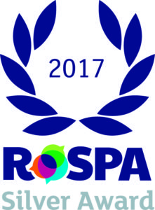 ROSPA 2017 Silver award
