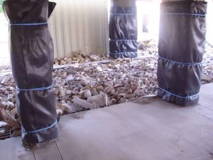 Controlled Demolition Pillars