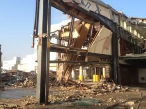 Pier 1 demolition works, London Gatwick Airport