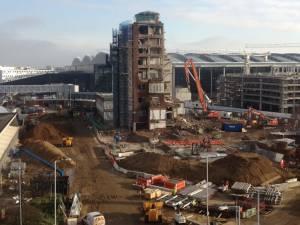 Heathrow Airport Air Traffic Control Tower Demolition