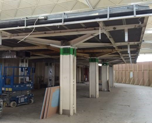 Terminal Transformation Project (TTP) at London Stansted Airport