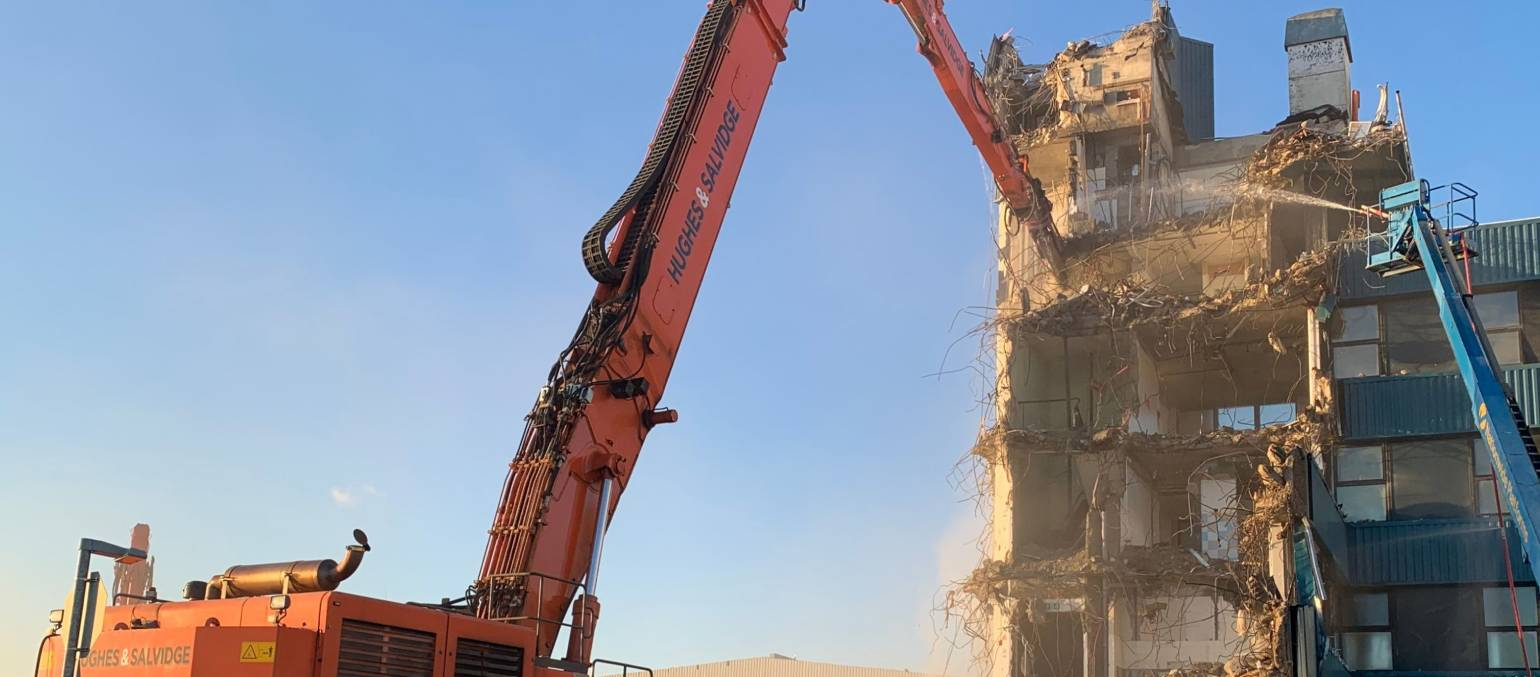 Hughes & Salvidge demolition